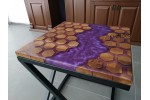 River table, epoxy coffe table, office desk, decor table