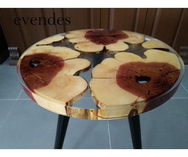 Epoxy coffee table, decor, river coffee table, juniper wood, natural tree coffee table, kitchen, cafe, office, decor coffee table