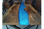 Epoxy table, epoxy resin table, office, decor, epoxy dinner table