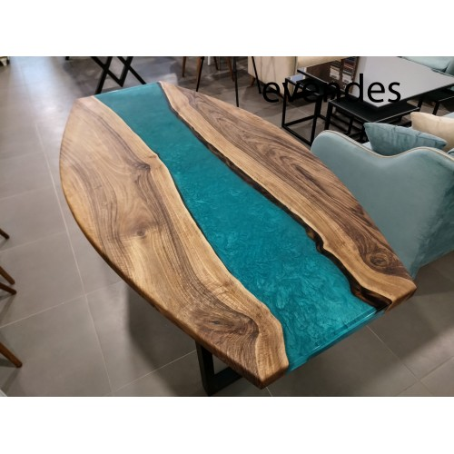 Live edge table, walnut wood, epoxy table, decor, office desk, river dining table