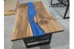 Epoxy table, live edge, office desk, decor, river dining table