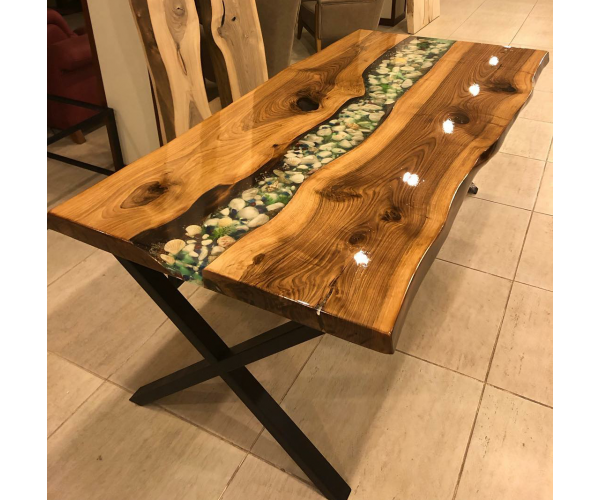 Live edge, epoxy table, kitchen, river dining table, office desk, garden, Kitchen table