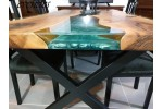 Epoxy table, decor, river dining table, office desk, live edge