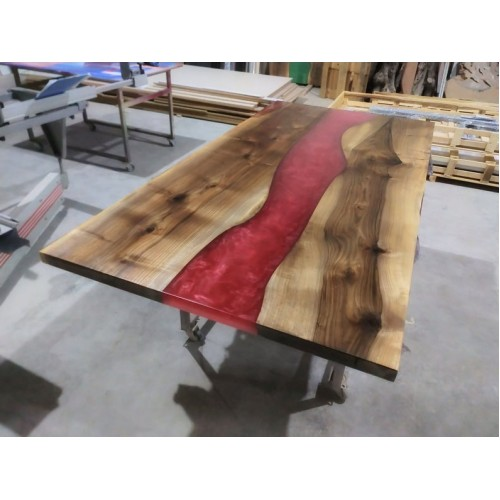 Epoxy table, decor, river table, office, epoxy dining table